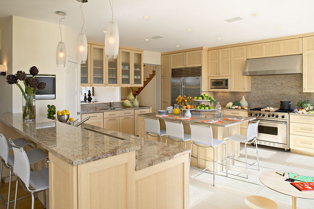 beach style kitchen beach style kitchen - How To Choose Kitchen Backsplash