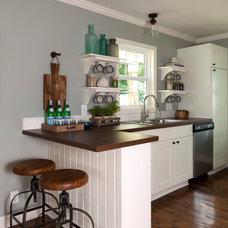 Beach Style Kitchen by Loftus Design, LLC