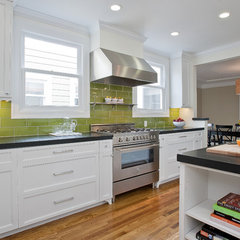 contemporary kitchen by Melissa Lenox Design