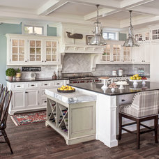 Beach Style Kitchen by Norman Design Group, Inc.
