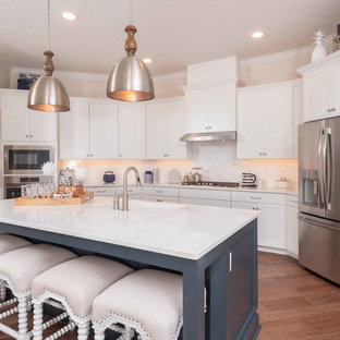 White Kitchen Backsplash Ideas Houzz