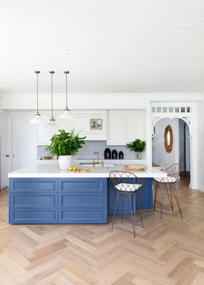 Transitional Kitchen by Katie Sargent Design