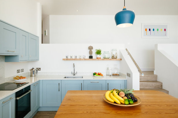 Beach Style Kitchen by Perfect Stays