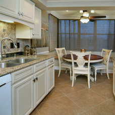 Beach Style Kitchen by Island Paint and Decorating