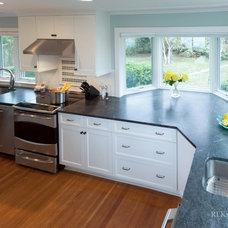 Beach Style Kitchen by RI Kitchen & Bath