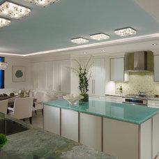 Beach Style Kitchen by LAURA MILLER, ASID, NCIDQ: INTERIOR DESIGN