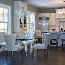 Traditional Kitchen by Leonie G Interiors LLC dba.