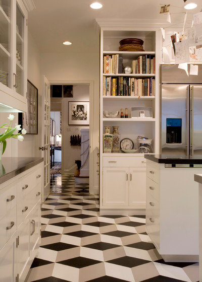 Lovely Modern Kitchen by Crogan Inlay Floors