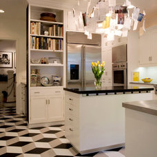 Modern Kitchen by Crogan Inlay Floors