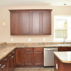 Traditional Kitchen by TailorCraft Builders, Inc.