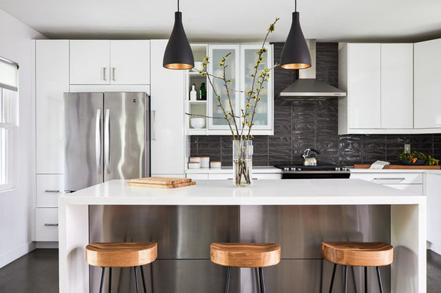 Contemporary Kitchen by Kerry Vasquez Design