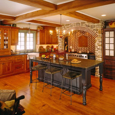 Rustic Kitchen by Zook Kitchens