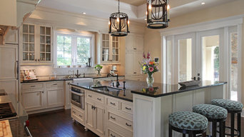 Beaded Inset Traditional Kitchen