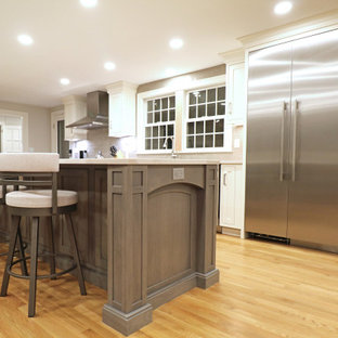 Beaded inset two tone Kitchen