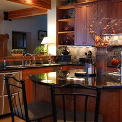 eclectic kitchen by Kitchens.com