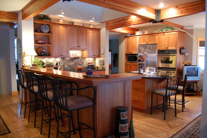 Rustic Kitchen by Kitchens.com