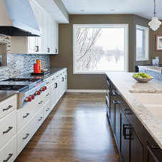 Traditional Kitchen by Rift Sawn Cabinets
