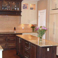Traditional Kitchen by Prairie Point Interiors Inc