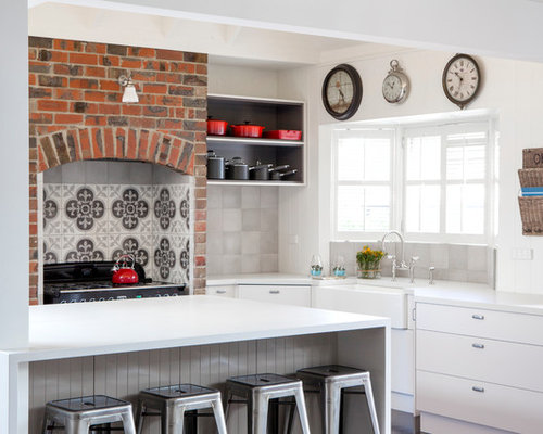 30 Best French Provincial Kitchen with White Cabinets Ideas & Remodeling Photos | Houzz