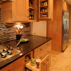 contemporary kitchen by NWC Construction