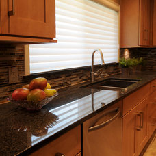 Transitional Kitchen by NWC Construction