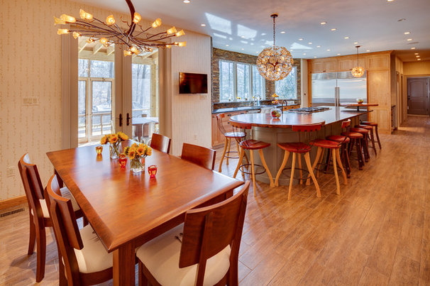 Transitional Kitchen by Jeffco Development Corporation