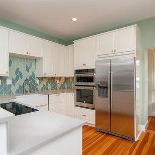Beautiful Blended Kitchen Backsplash