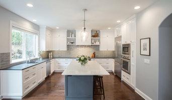 Beautiful Blue - Gray Kitchen
