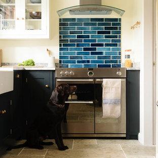 Beautiful Blue Handmade Tiles