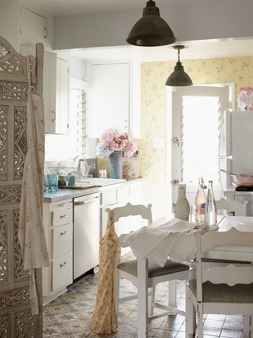 Cuisine country cottage shabby chic style small photos for Cuisine country chic