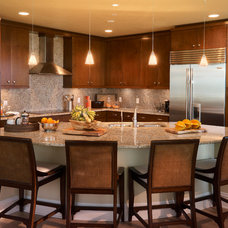 Contemporary Kitchen by AlliKristé Custom Cabinetry and Kitchen Design