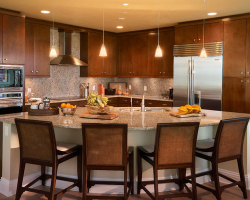 Curved Island Home Design Ideas Pictures Remodel And Decor