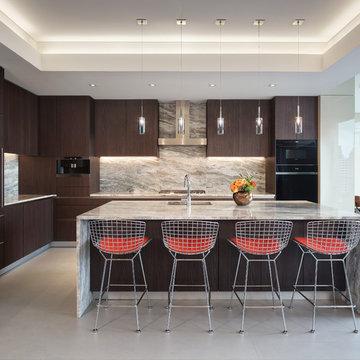 Beautiful, Contemporary Snaidero WAY Kitchen | Chicago, IL