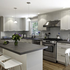 Transitional Kitchen by Executive Cabinetry