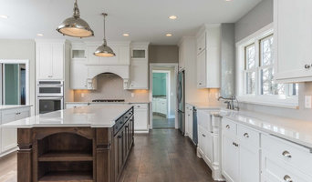 Beautiful Home with Mixture of Painted & Stained Cabinets
