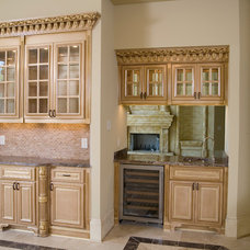 Mediterranean Kitchen by Atlantic Construction & Remodeling