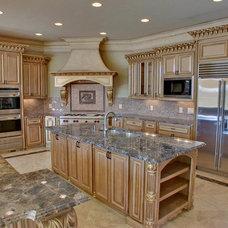 Mediterranean Kitchen by Atlantic Construction & Remodeling