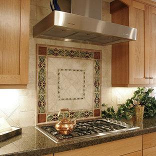 Granite Tile Backsplash | Houzz