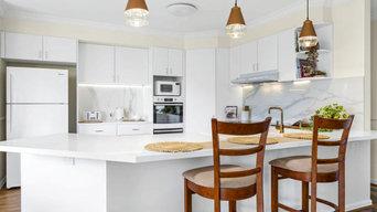 Beautiful kitchen transformation!