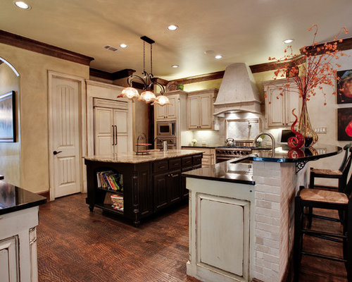 Tea-Stained Cabinets Home Design Ideas, Pictures, Remodel
