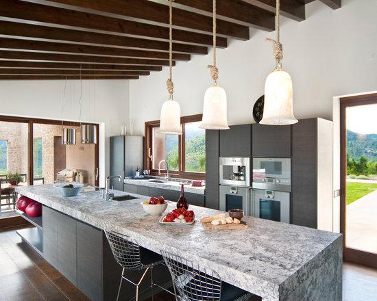 Contemporary Kitchen Island Lighting kitchen island pendants   houzz