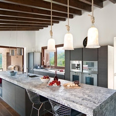 Contemporary Kitchen by Llama Property Developments