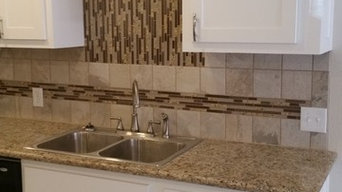Beautiful shaker kitchen with crown