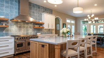 Beautiful, Tasteful, Refreshing Chagrin Falls Kitchen
