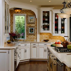 Traditional Kitchen by Savena Doychinov, CKD/Design Studio International