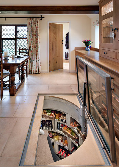 Farmhouse Kitchen by Spiral Cellars