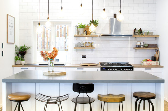 Eclectic Kitchen by Palazzo Kitchens & Appliances
