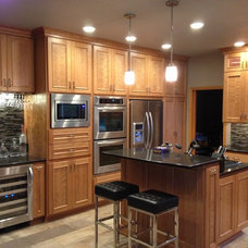 traditional kitchen by C&K Custom Remodeling