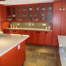 Modern Kitchen by Karin Marganian Interior Designs