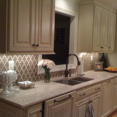 Traditional Kitchen by Becky Seidenberg